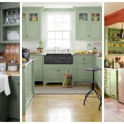 Green Kitchen Cabinets Lowes Remodeling 10 Ideas Best Paint Colors For Kitchens