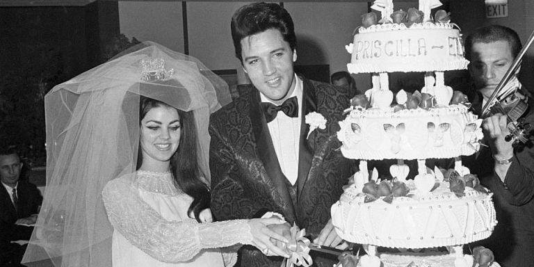 Elvis And Priscilla Presleys Wedding 50th Anniversary