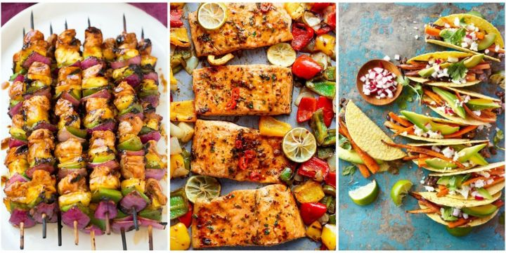 Easy Summer Lunch Ideas Summer recipes for dinner traveltourswall 14 easy summer dinner ideas best recipes for dinners sisterspd