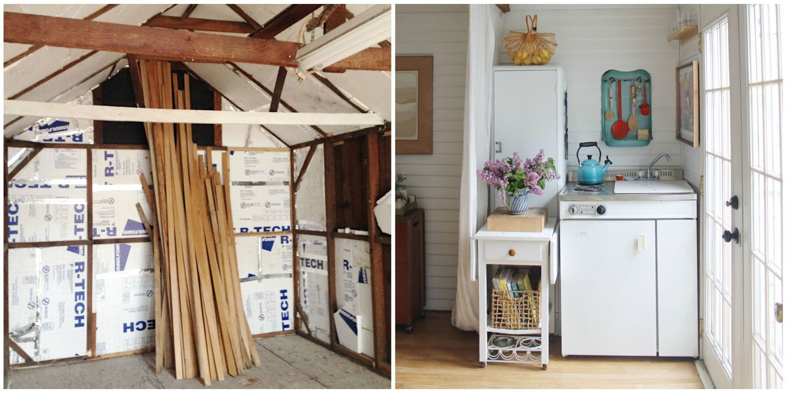 This Couple Turned Their Grandma's Garage Into The Cutest