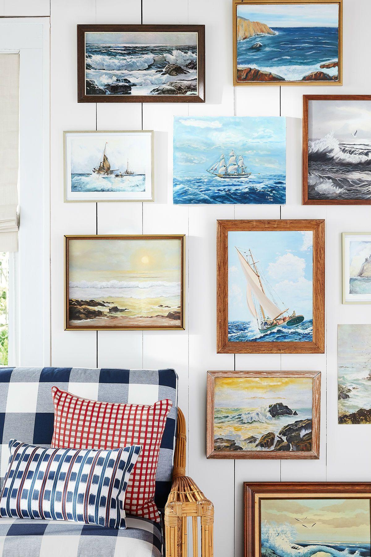 beach house living room designs leopard print chairs 42 decorating ideas home decor
