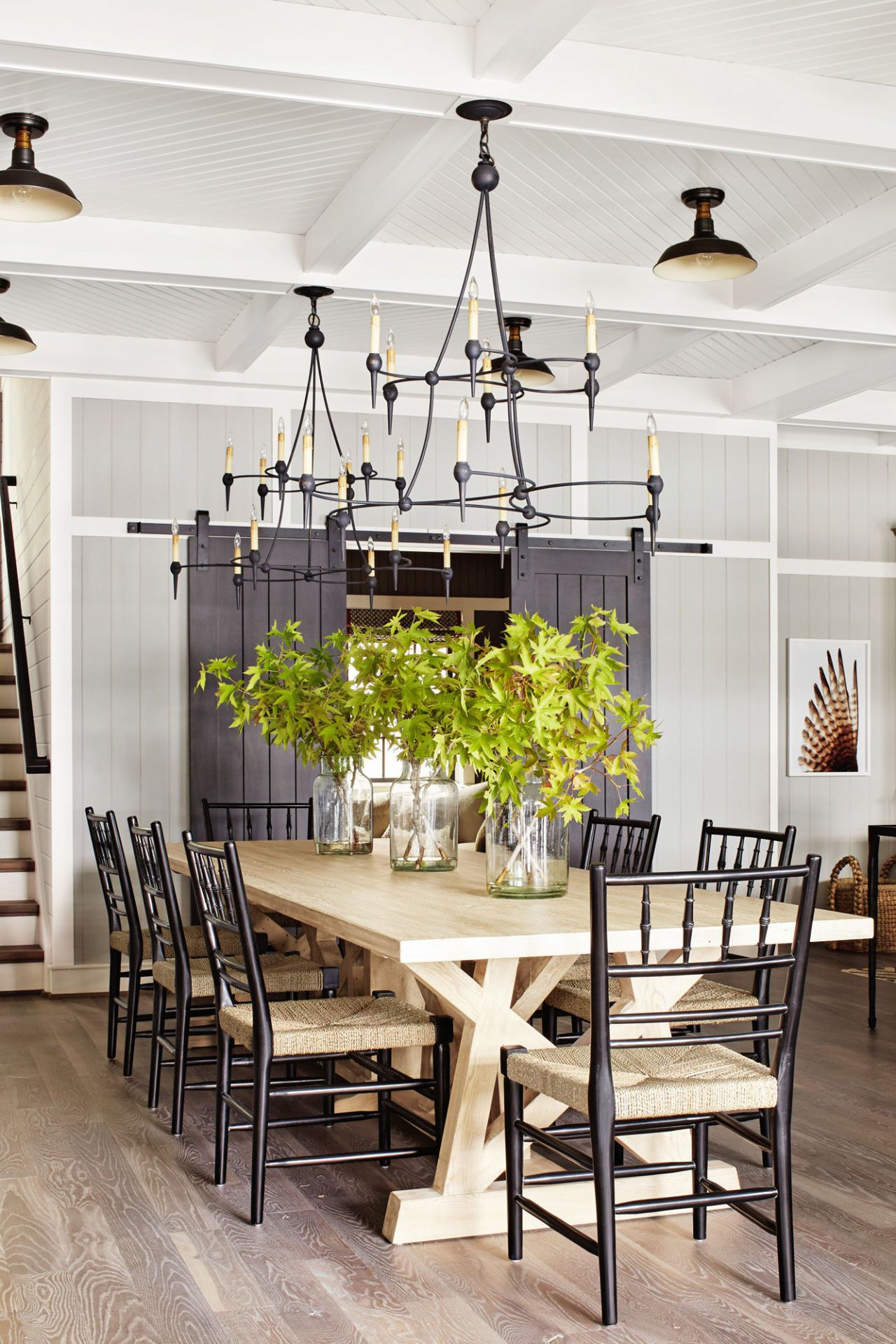 farmhouse kitchen tables grills best farm country max kim bee styling by sarah cave designer thom filicia