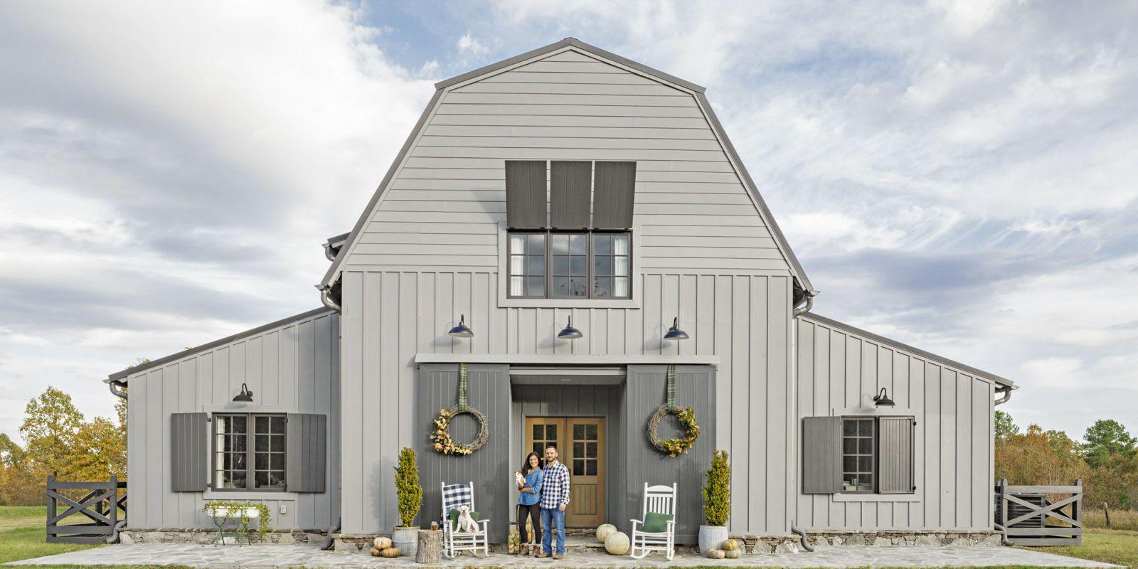 Modern Mississippi Barn Farmhouse Decorating Ideas