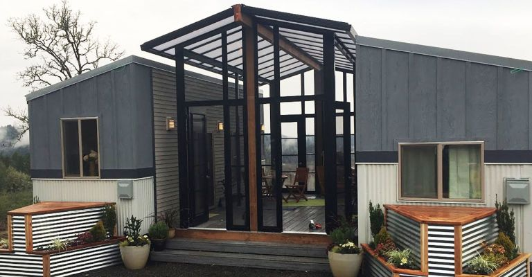 This Portland Tiny Home Is Actually Two Tiny Homes In One
