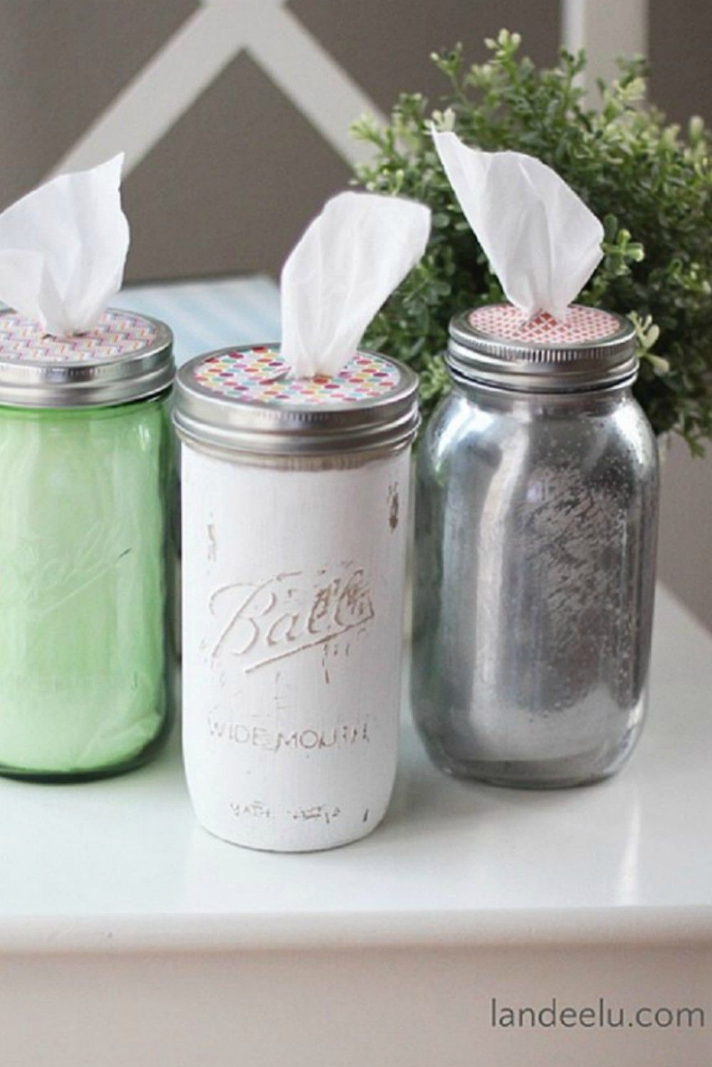 Kitchen Mason Jars Decor