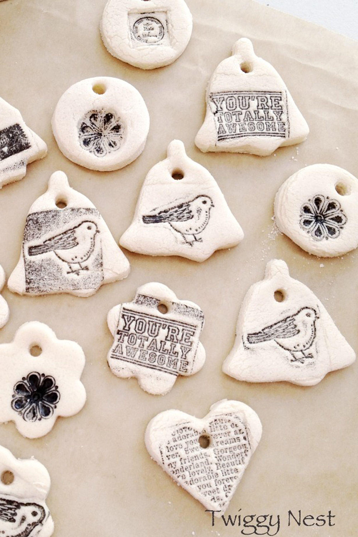 Christmas Dough Ornaments Recipe