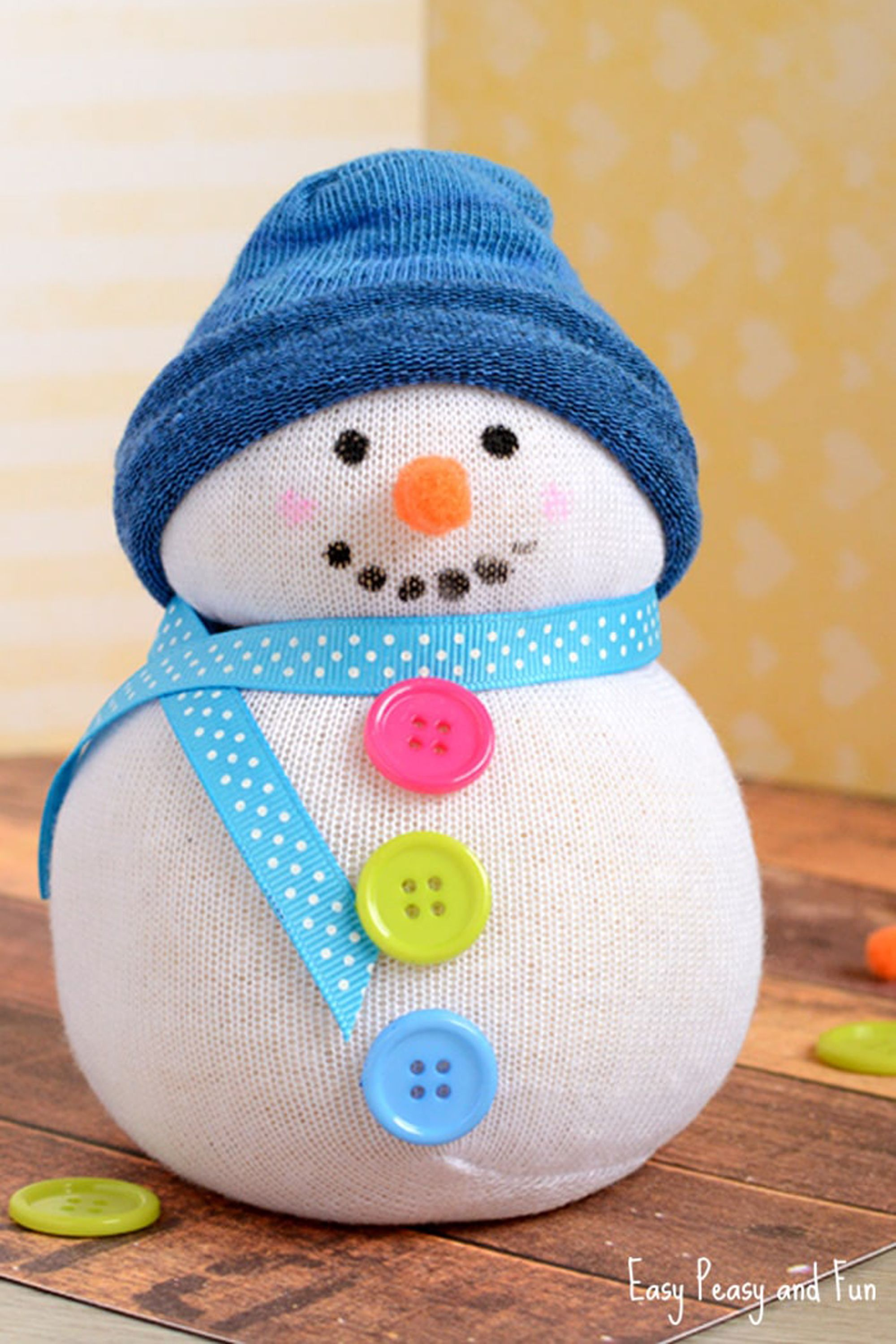 12 easy christmas crafts