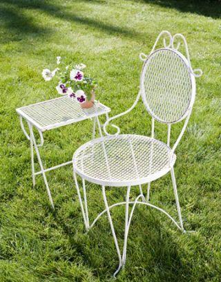 vintage iron patio furniture