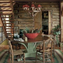 Log Cabin Living Rooms Ideas Room Cream Leather Sofa House Tour Decorating For Cabins