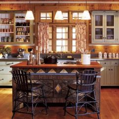 Kitchen Walls Shun Shears And Floors Wall Flooring Ideas Adirondack Style