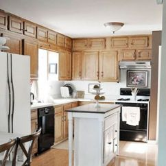 Kitchen Makeovers Top Corner Cabinet 22 Makeover Before Afters Remodeling Ideas