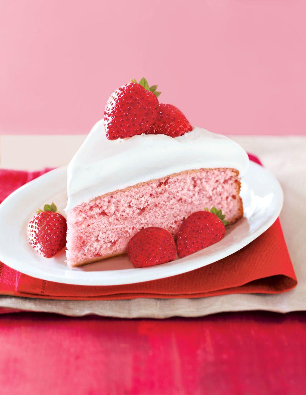 Fresh Strawberry Cake Recipe Strawberry Cake From Scratch