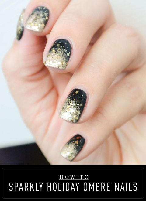 Gold Nail Designs To Get A New Touch Black And Art Ideas