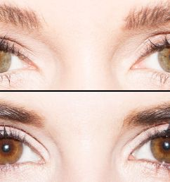 6 ways to get the perfect eyeliner look for your eye shape in 1 handy chart [ 2000 x 1000 Pixel ]