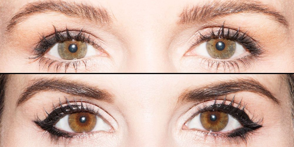 medium resolution of 6 ways to get the perfect eyeliner look for your eye shape in 1 handy chart