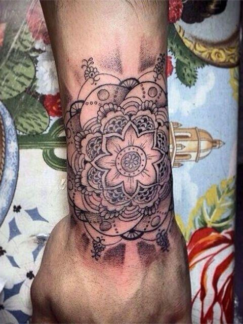 Zayn Malik Right Hand Tattoo