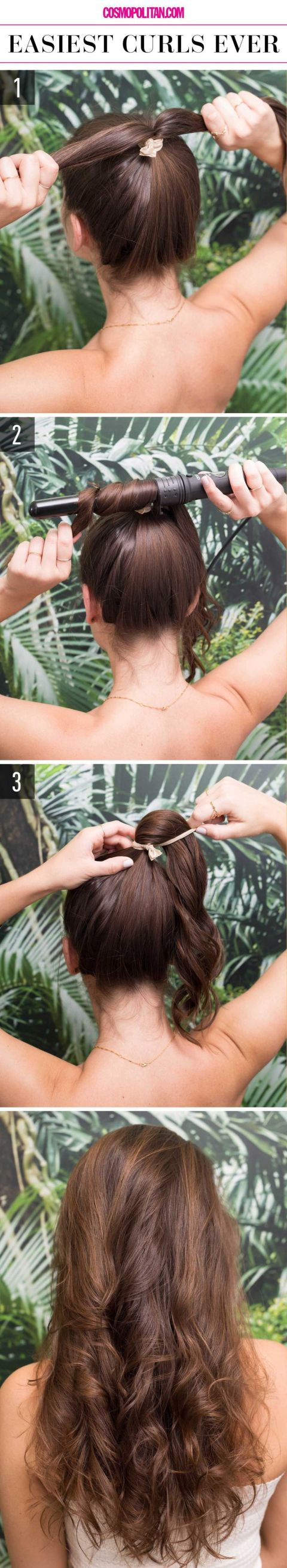 Easiest curls ever