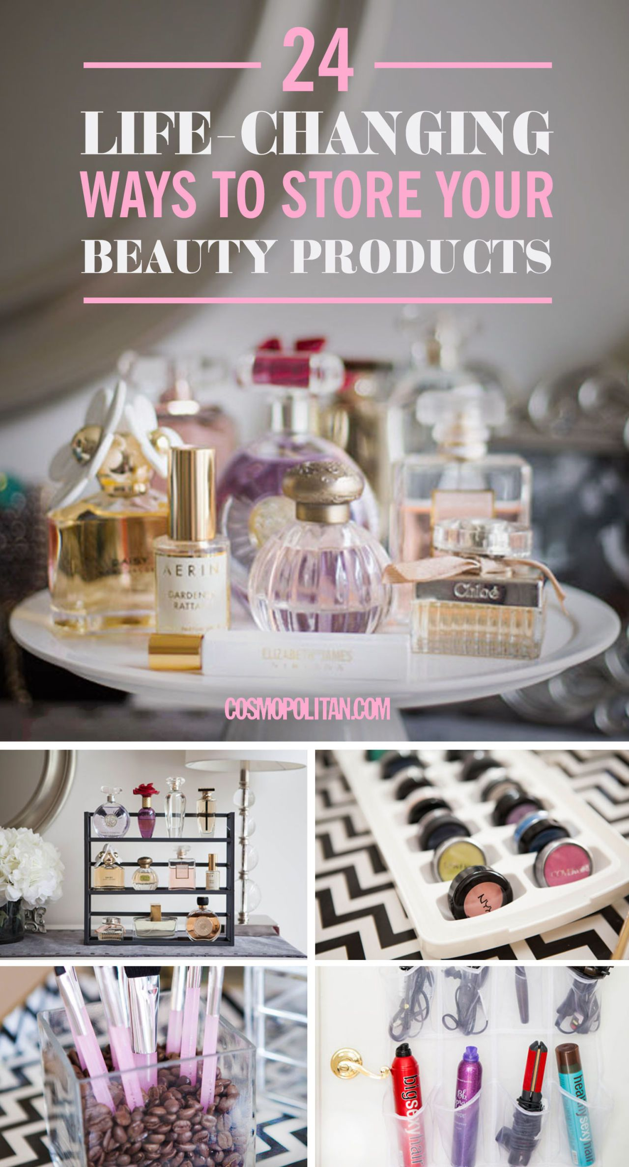 Unconventional Ways to Store Your Makeup  Beauty Product