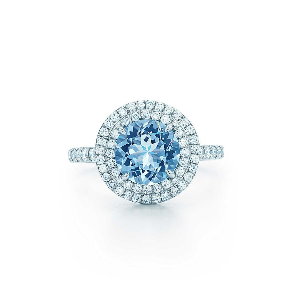 tiffany soleste aquamarine ring