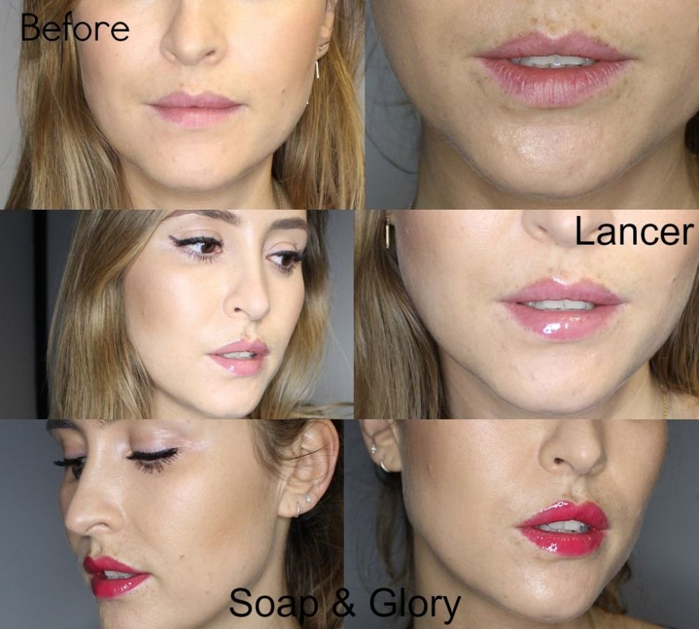 new plumping lip glosses tested in the