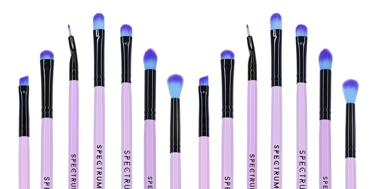 hight resolution of here s what all the different shaped eye makeup brushes are actually for