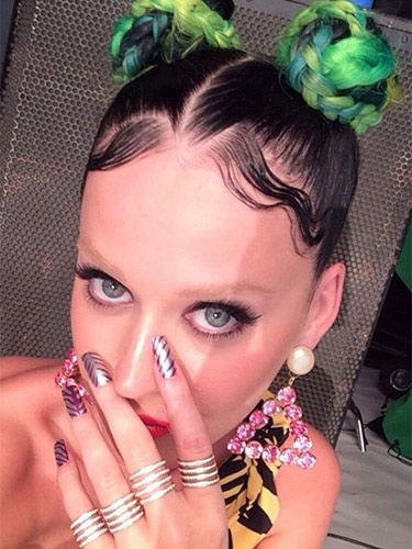 Katy Perry Eye Brows : perry, brows, Perry, Bleached, Eyebrows, Instagram, Selfie, Picture