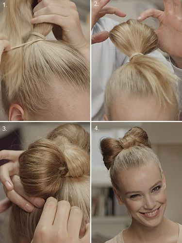 Get The Look Step By Step Guide To The Hair Bow