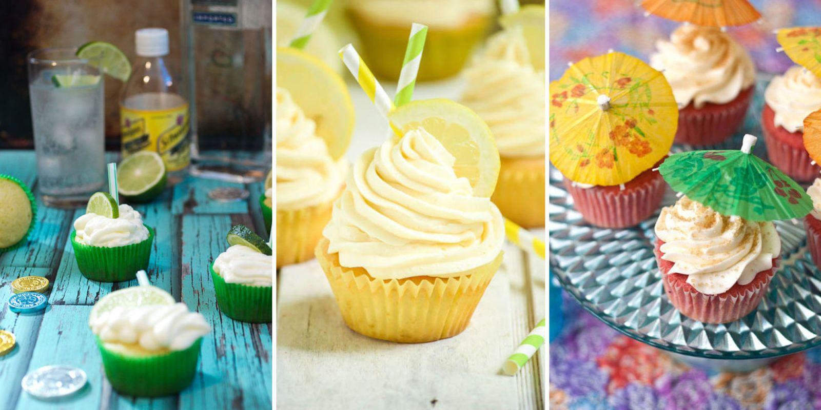 Recipes For Boozy Cupcakes