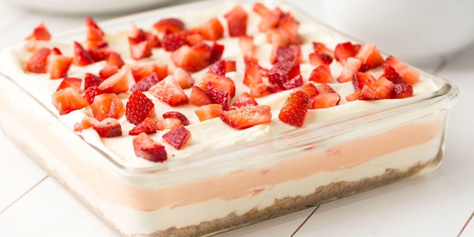 Cake Easy Recipe Chocolate Strawberry