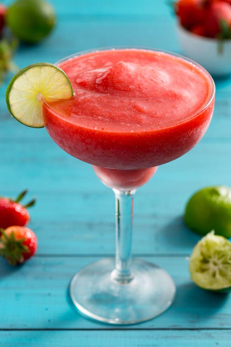 Verschiedene Strawberry Daiquiri Rezept Ideen Von Easy Frozen Recipe How To Make A