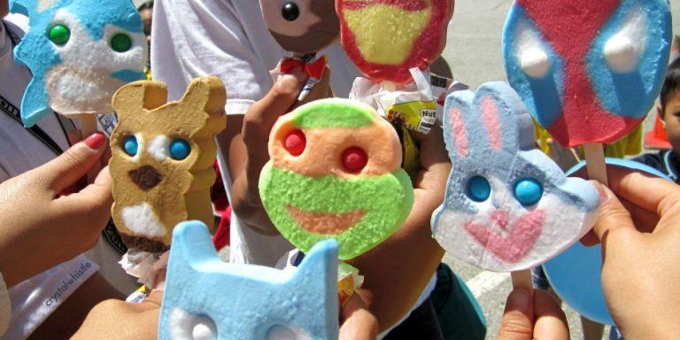 Cartoon Character Ice Cream Bars