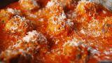 Zucchini Meatballs marinara sauce