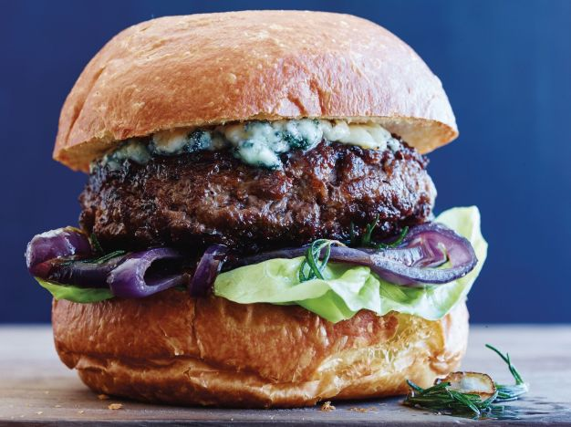 Image result for blue cheese burger