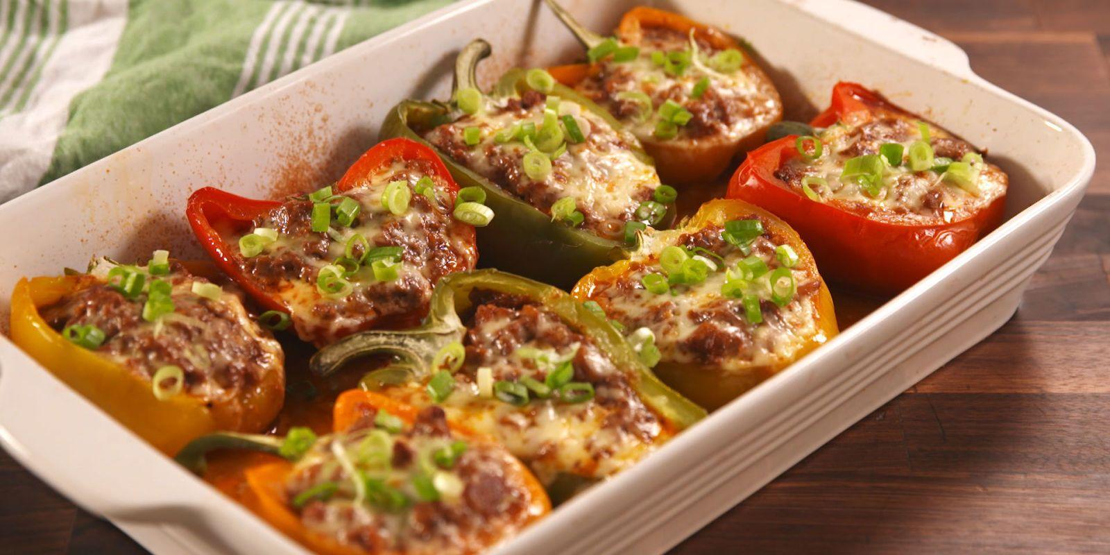 Best Sloppy Joe Stuffed Peppers Recipe  How to Make