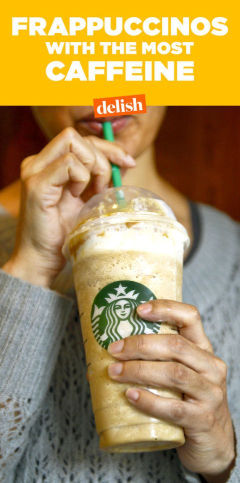 7 Frappuccinos With The Most Caffeine