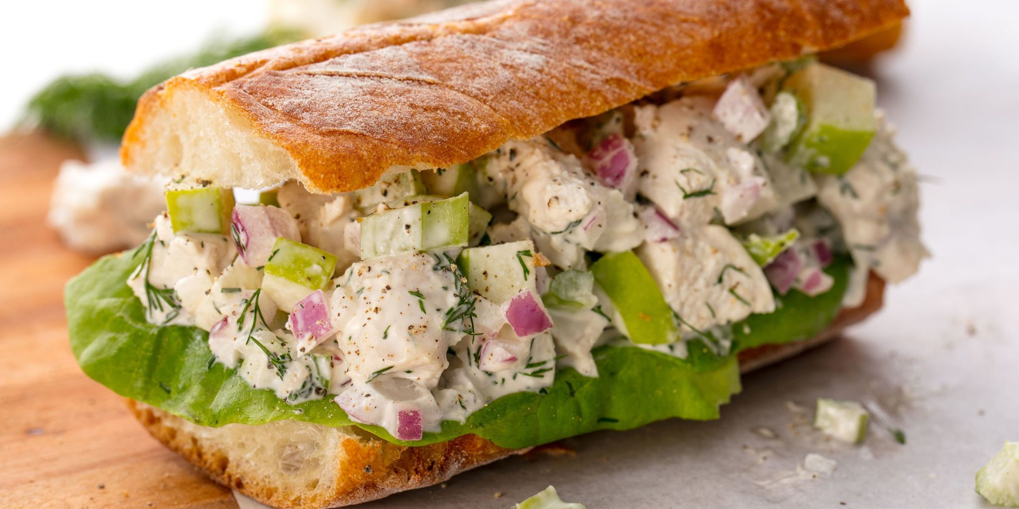 Best Chicken Salad Sandwich Recipe How to Make a