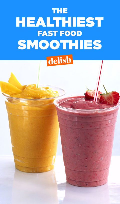 Smoothie King Pre Workout : smoothie, workout, Which, Fast-Food, Smoothies, Actually, Healthy?, Smoothie, Nutrition, Facts, Delish.com
