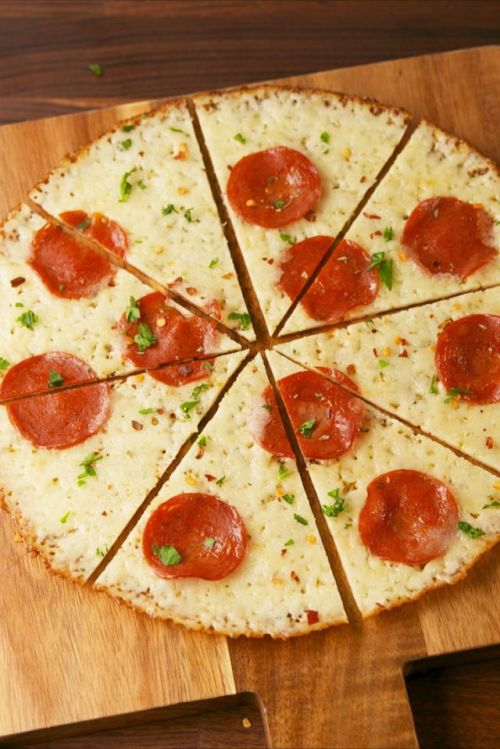 Image result for Crust-less Pepperoni Pizza recipe