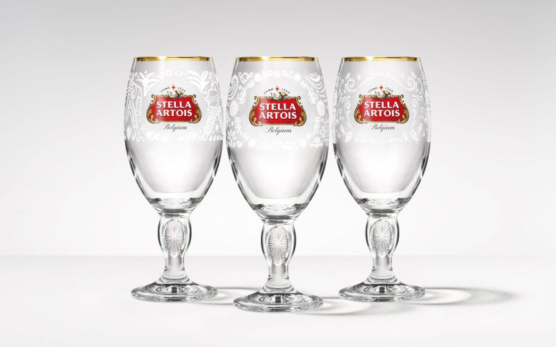 Stella Artois limited edition chalices