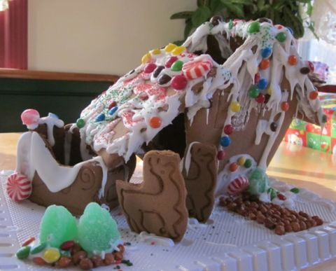 Gingerbread House Disasters Pictures of Bad Gingerbread