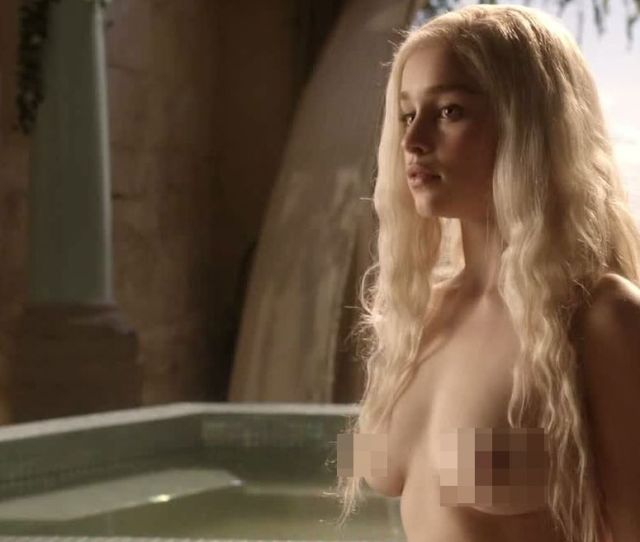 Emilia Clarke Is Saying No To Nudes But Who Else In The Cast Wants To Cover Up