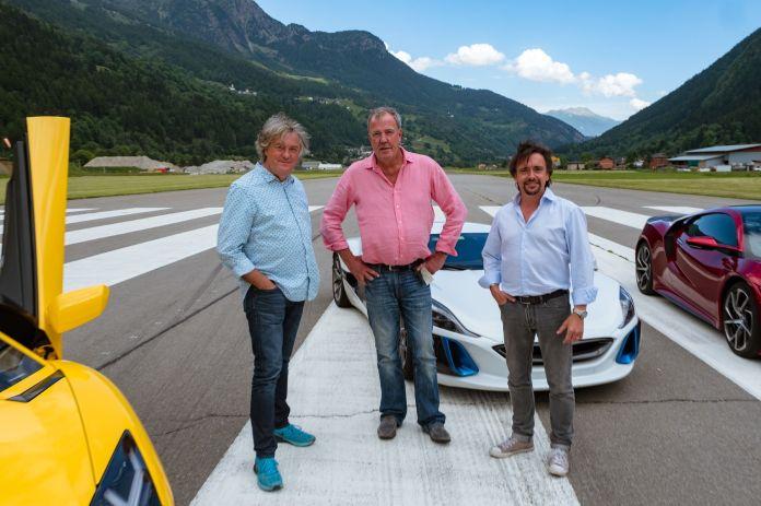 Grand Tour season 2 episode 1, Switzerland - James May, Jeremy Clarkson, Richard Hammond