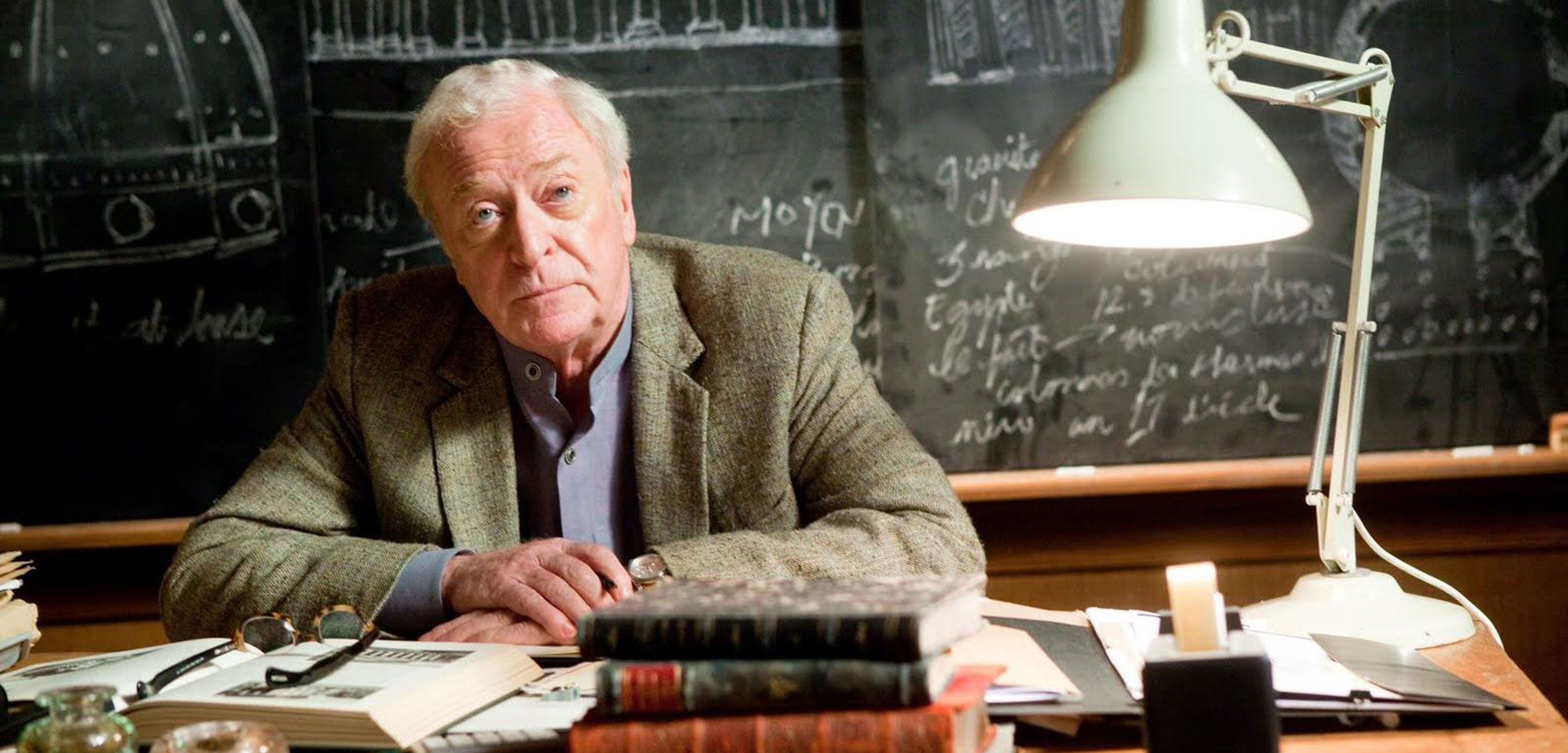 Michael Caine, in the movie Inception, July 2010