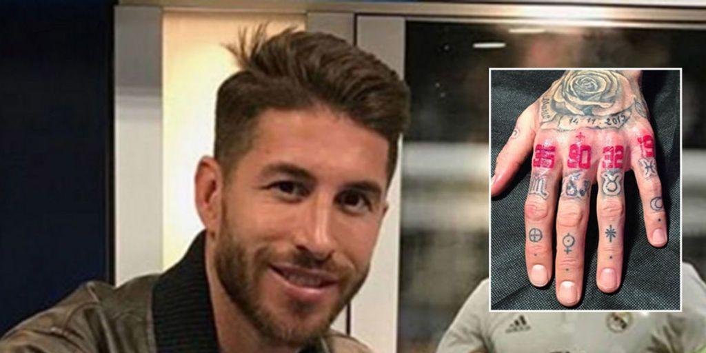 Qué Significan Los Nuevos Tatuajes De Sergio Ramos