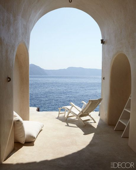 After Renewing His Love Of The Sea While Living On Greek Island Santorini Hotelier Costis Psychas Finds An Even More Secluded Spot To Create