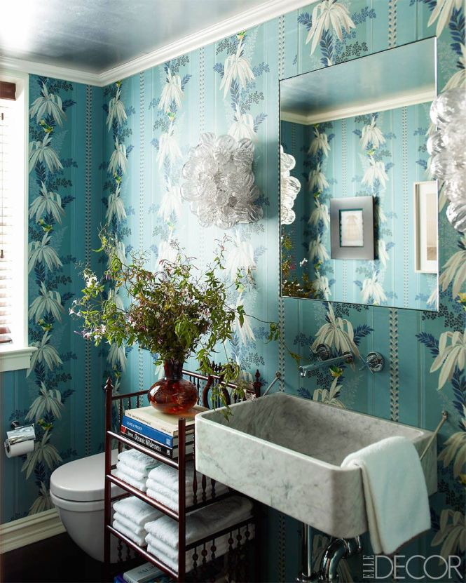 20 Small Bathroom Decorating Design Ideas Elle Decor Imanada In Decoration The Attractive For Home