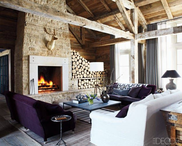 Decorating Ideas For Rustic Lodge Homes – Photos Of A Mountain