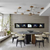 Modern Dining Room Decorating Ideas Contemporary Photos Interior Design Room For Mobile Phones Full Hd Pics