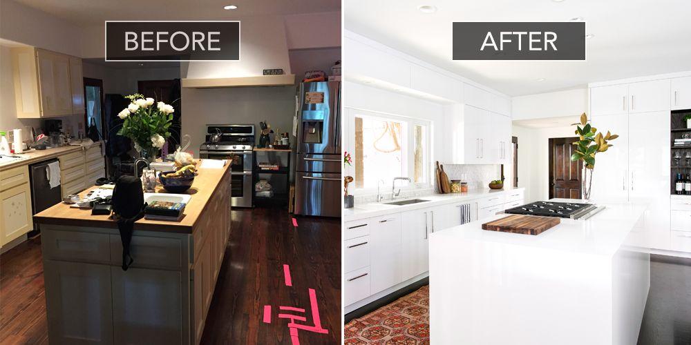 Christina Applegate Kitchen Makeover Kitchen Design Before And After