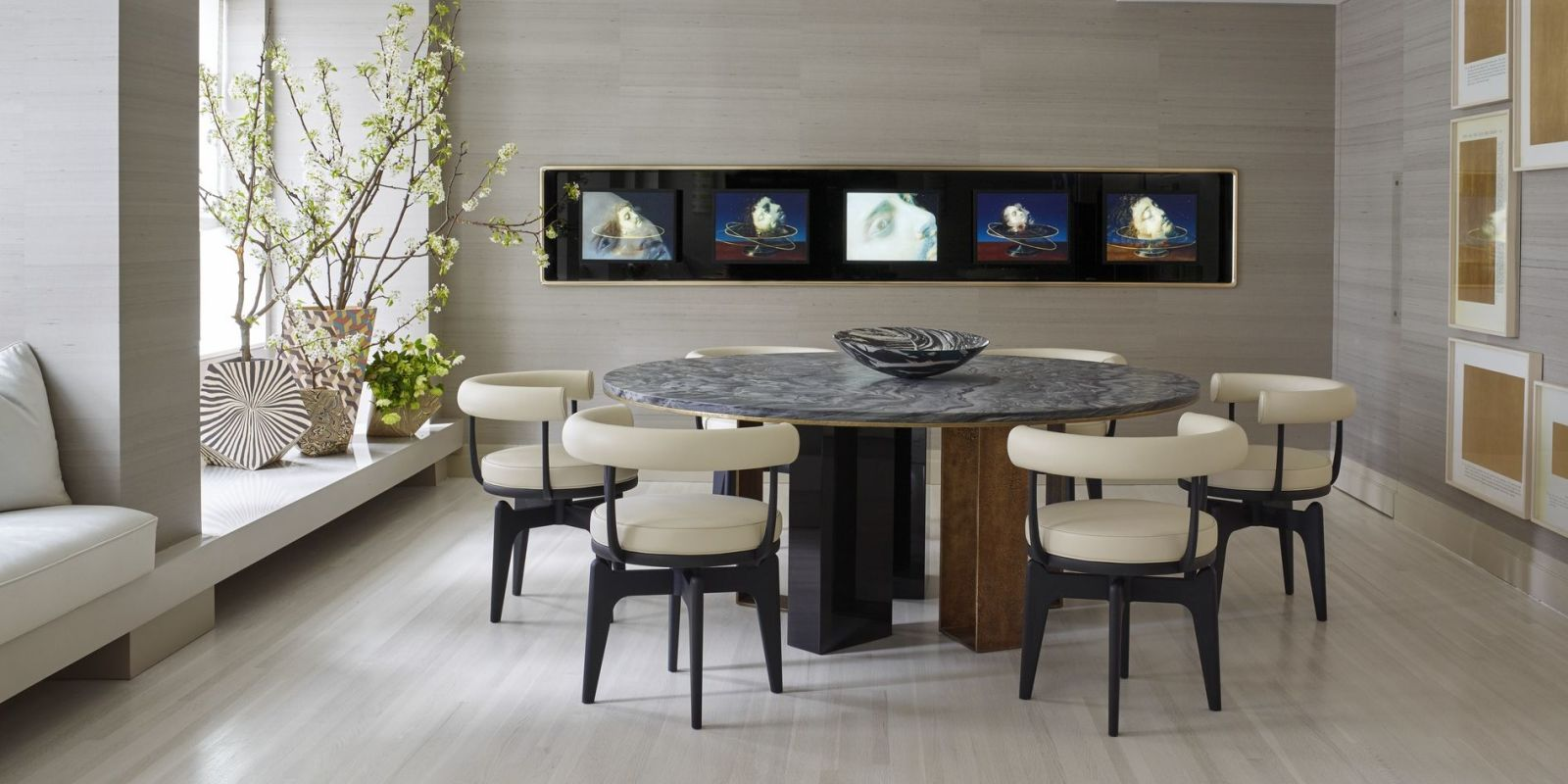 25 Modern Dining Room Decorating Ideas  Contemporary
